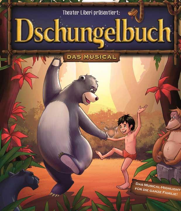"""""""Dschungelbuch – das Musical"""" gastiert in Flensburg"""