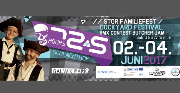 72,5 hours Schlachthof – Butcher Jam – Dockyard Festival 2017