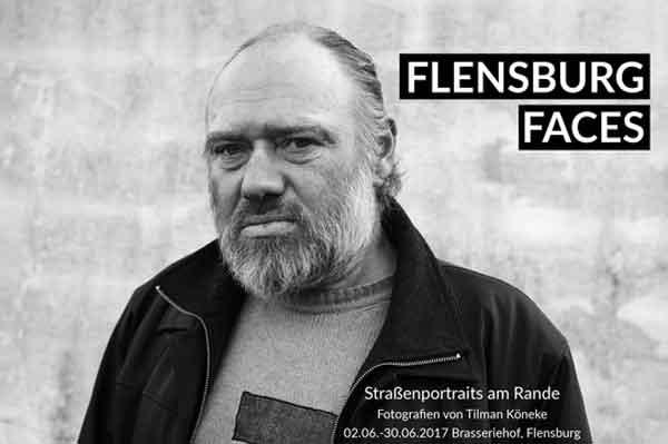Ausstellung im Brasseriehof: Flensburg Faces – Straßenportraits am Rande