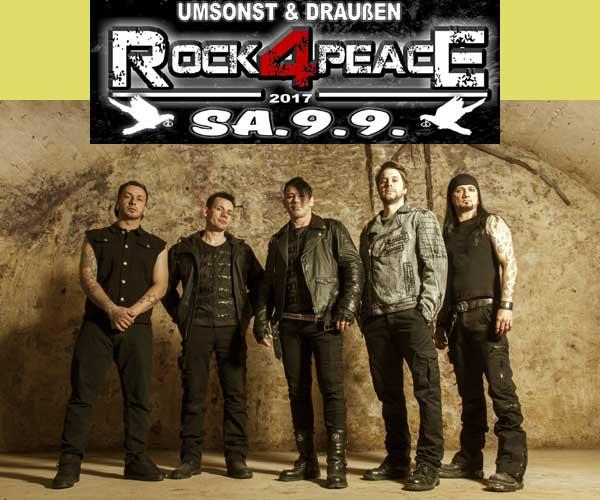 Rock-Demo Rock4Peace am 9. September in Flensburg