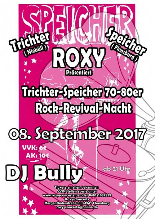Roxy Flensburg – Trichter & Speicher Rock Revival Nacht