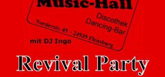 Klasse! Die Original Roxy Revival Party – Wo? Im Roxy Concerts Flensburg