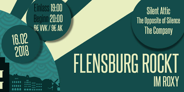 Flensburg rockt! So richtig im Roxy Concerts