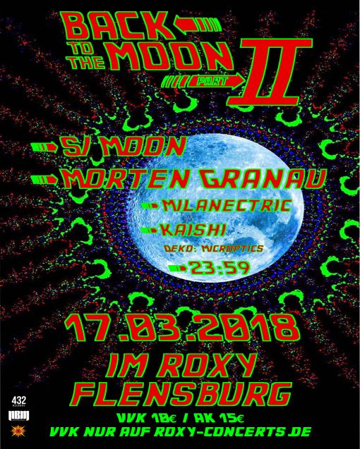 "Roxy-Concerts in Flensburg: Goa ""Back to the Moon Part 2"""