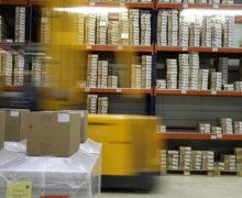 Moderne Warenverpackungen