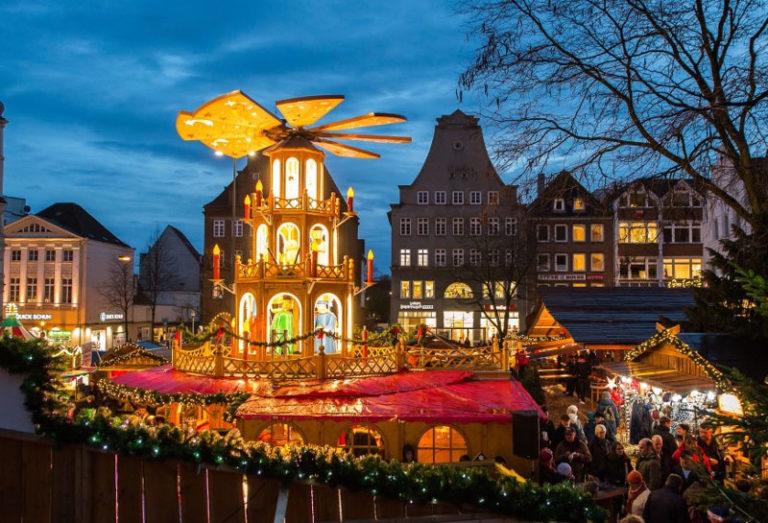 Feierliche Eröffnung des Flensburger Weihnachtsmarktes am 25. November 2019
