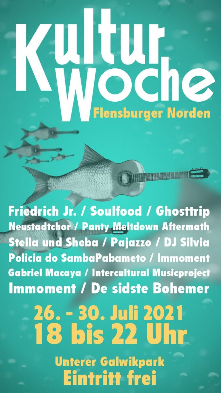 Kulturwoche Flensburg im Galwik-Park – 26. – 30. Juli